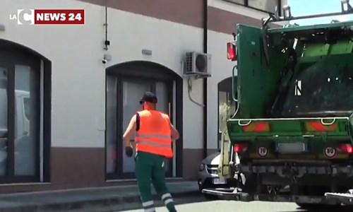 Camion rifiuti, immagine di repertorio