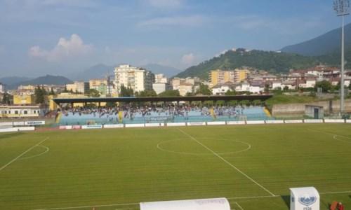 Lo stadio della Paganese