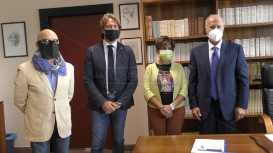 Antonio Chiefalo, Giuseppe Sifonetti, Amalia Garzaniti e Rodolfo Palermo