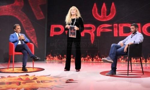 Antonella Grippo con Sergio Abramo e Michele Conia