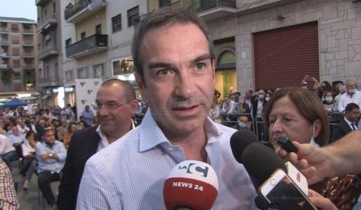 Il presidente della Regione Calabria Roberto Occhiuto