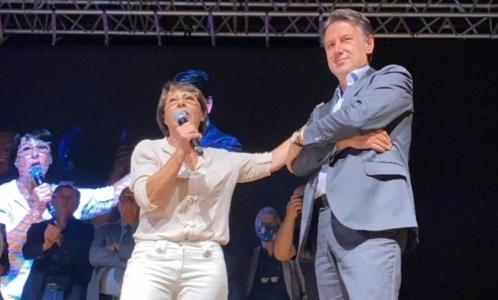 Amalia Bruni e Giuseppe Conte