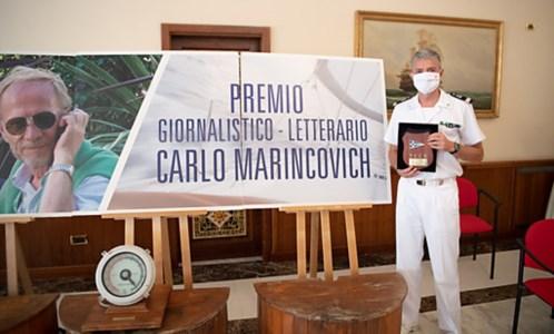 """Storie di mare""""Navi mute"""", il libro sulla morte del comandante De Grazia tra i vincitori del premio Marincovich"""