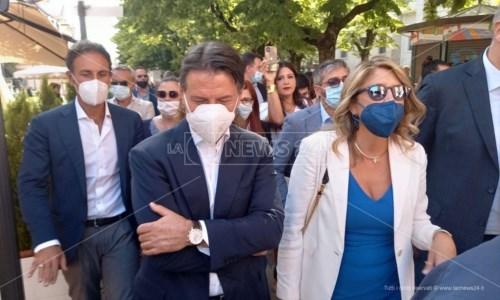 Conte con Bianca Rende a Cosenza
