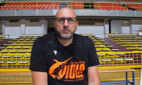 Il coach Domenico Bolignano