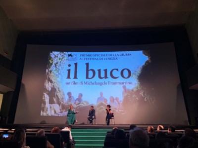 """La Calabria del cinemaFrammartino a Cosenza presenta il """"Buco"""". «Ho vinto un Leone Nero come il Bifurto»"""
