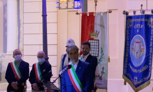 Il sindaco di Grottaferrata Luciano Andreotti