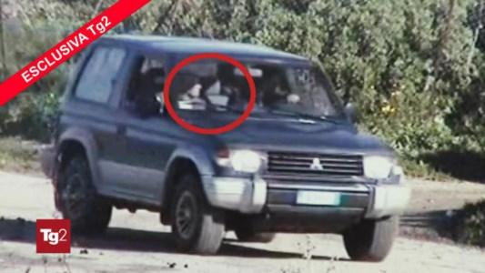 Un frame del video trasmesso dal Tg2