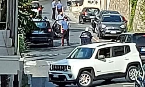L'allarmeCetraro, presunto ordigno sotto l'auto di Giuseppe Aieta: intervenuti gli artificieri