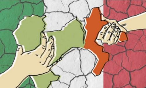 """L'editorialeUna """"manina"""" infila l'Autonomia differenziata nel Def: apartheid in salsa italiana per fregare il Sud"""