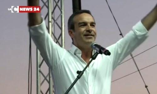 Il neo presidente della Regione Calabria, Roberto Occhiuto