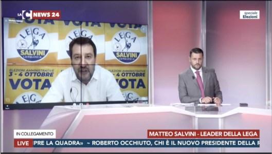 Salvini non blinda Spirlì: «Lo ringrazio per il lavoro fatto, i dibattiti sulle poltrone non mi interessano»