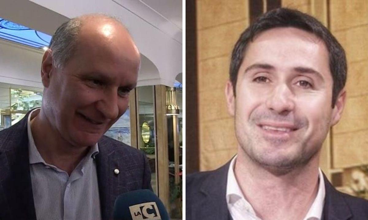 A sinistra Michele Comito, a destra Ernesto Alecci