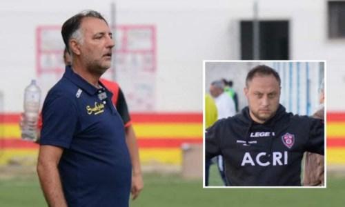 Calcio calabriaEccellenza, cambio in panchina per l'Acri: via Pacino, in arrivo Pascuzzo