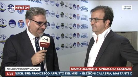 Comunali Cosenza, Mario Occhiuto: «Lascio dopo 10 anni, spero che Francesco Caruso completi i miei progetti»