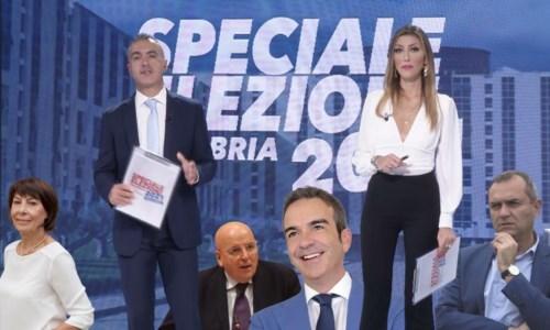 Pietro Comito e Francesca Lagoteta con i protagonisti di questa tornata elettorale