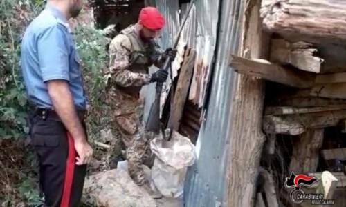 Rinvenuto e sequestrato un fucile con matricola abrasa nel Reggino: denunciato 54enne