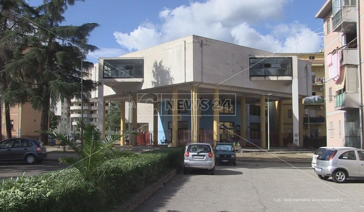 La sede dell'ex Circoscrizione di Via Popilia a Cosenza