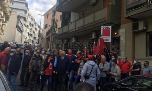 Uno scatto dall'iniziativa di Reggio Calabria