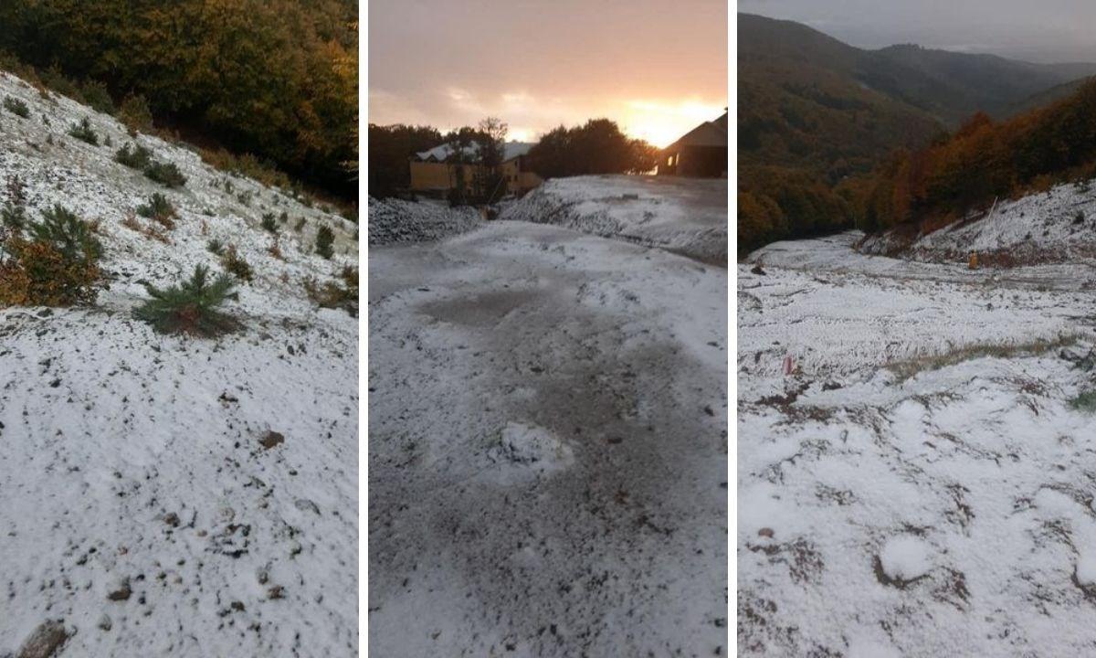 La neve a Botte Donato (Foto Cammina Sila)