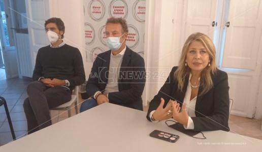 La conferenza stampa di Bianca Rende