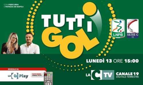 """La puntataTuttigol, nuovo appuntamento su LaC Tv con il """"processo"""" del lunedì al calcio calabrese"""