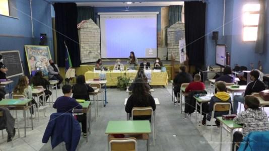 Incontro del Corecom alla scuola secondaria Telesio Montalbetti Reggio Calabria