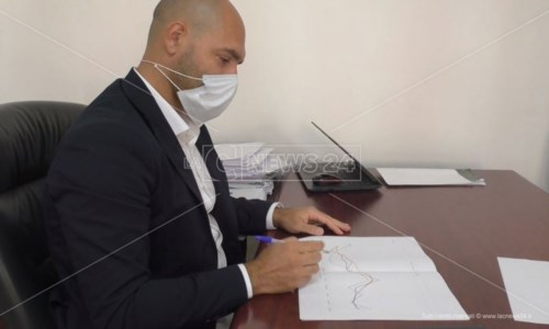 Il presidente di Akrea, Gianluca Giglio
