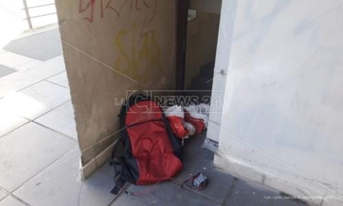 Allarme bomba rientrato a Rende, nessun ordigno nello zaino abbandonato in strada