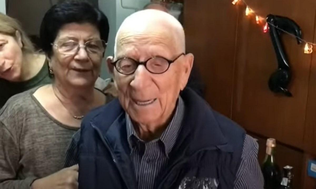 Vincenzo Nardi è l'uomo più longevo della Calabria