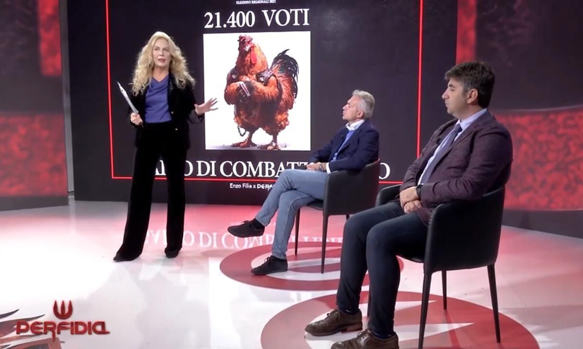 Gianluca Gallo e Antonio Lo Schiavo ospiti di Antonella Grippo a Perfidia