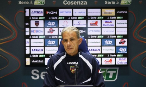 Cosenza, mister Zaffaroni