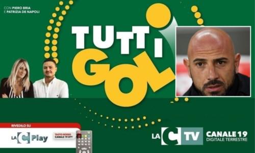"""La puntataTuttigol, il """"processo"""" al calcio calabrese oggi alle 21.30 su LaC Tv: ospite l'allenatore del Catanzaro"""