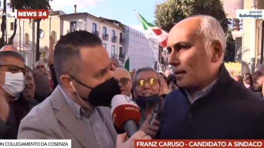 ComunaliCosenza: Franz Caruso è il nuovo sindaco, sconfitto Francesco Caruso - LIVE