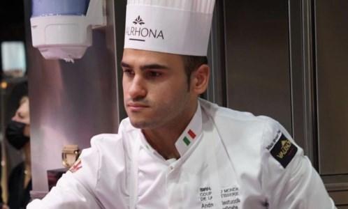 Andrea Restuccia, campione del mondo di pasticceria