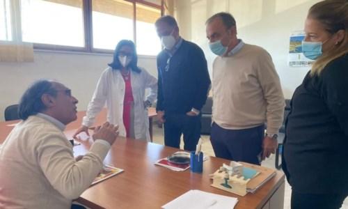 La riunione con la Direzione sanitaria