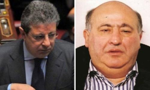 A sinistra Giancarlo Pittelli, a destra il boss Giuseppe Piromalli