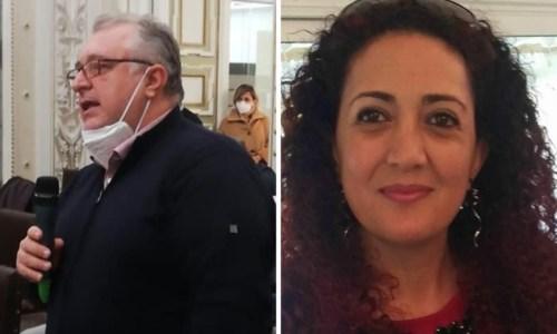 Ernesto Trotta e Barbara Sciammarella (foto Facebook)