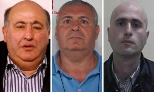 Da sinistra Giuseppe Piromalli, Delfino, Antonio Piromalli