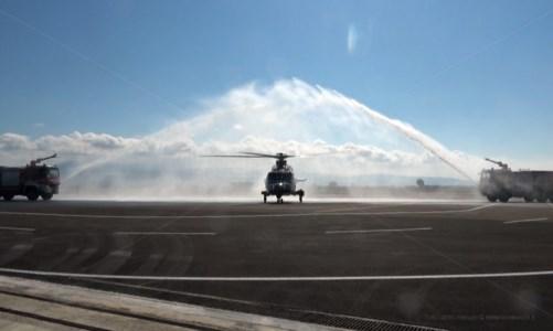 Consegnato alla Finanza di Lamezia l'elicottero di ultimissima generazione