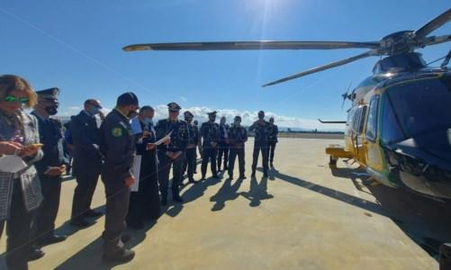 Consegnato alla Finanza di Lamezia l'elicottero di ultimissima generazione AW139