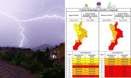 Emergenza meteoMaltempo, è allerta rossa in quasi tutta la Calabria: i Comuni chiudono le scuole, l'elenco - LIVE
