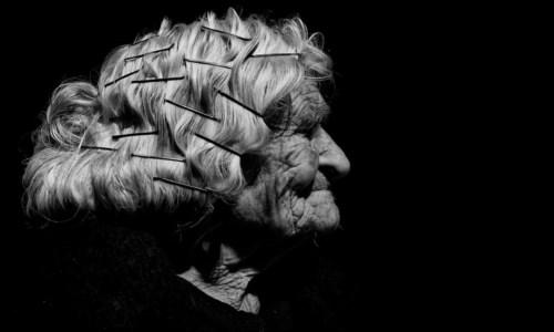 Nonna Angela Fortuna in uno scatto di Raffaele Montepaone