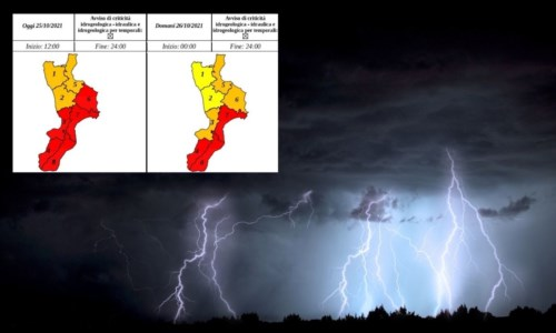 Emergenza meteoMaltempo Calabria, prorogata l'allerta e scuole chiuse anche domani in diversi comuni: l'elenco - LIVE