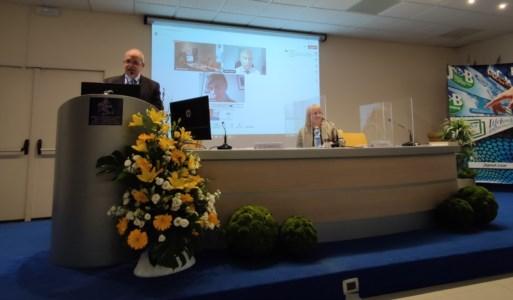 L'intervento introduttivo del dirigente medico Gianfranco Scarpelli