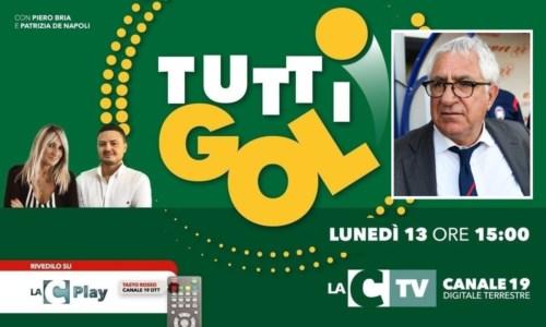 """I format di LaC TvTuttigol, oggi appuntamento con il """"processo"""" al calcio calabrese: ospite il ds del Crotone Ursino"""