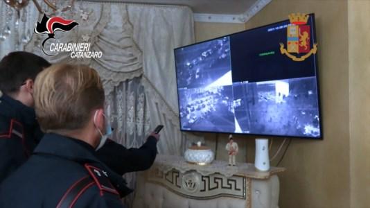 Le telecamere rinvenute nell'abitazione di Marco Passalacqua