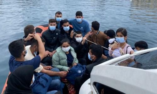 Lo sbarco dei migranti a Reggio Calabria