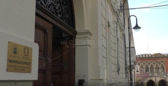 Ingresso del Mandela's office a Reggio Calabria