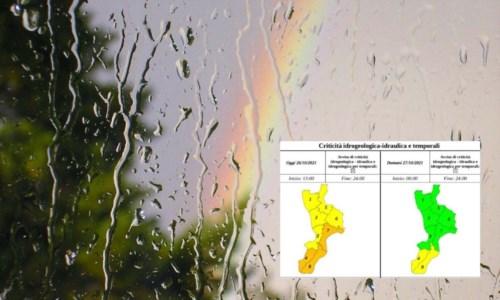 Emergenza meteoMaltempo, in Calabria migliora la situazione già nel pomeriggio: domani allerta gialla solo nel Reggino
